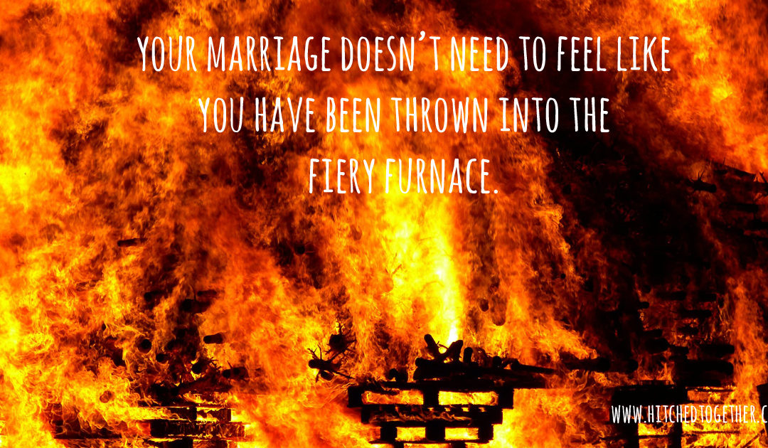 What to do when your marriage is feeling the heat.