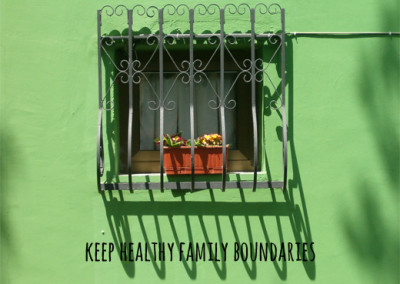 Establishing healthy family boundaries as newly weds