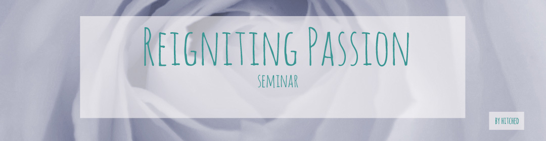 Reigniting passion is a half day seminar for marriages where Roy and Lainey teach about how a married couple can renew their passion for each other