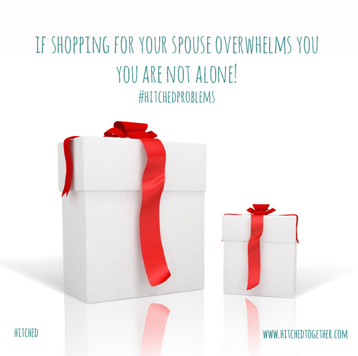 Advice on getting christmas shopping for your husband or wife, for you spouse right and avoid stress