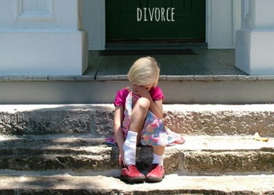 Helping a child through the grief of divorce