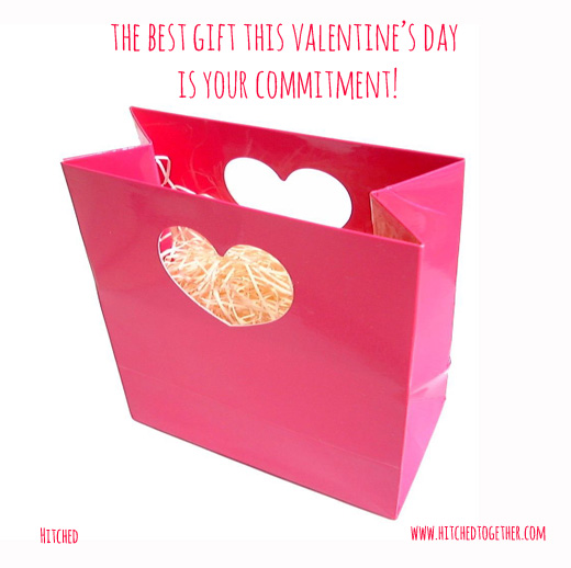 The best gift this Valentine's day is your commitment!