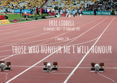 Those who honour me I will honour