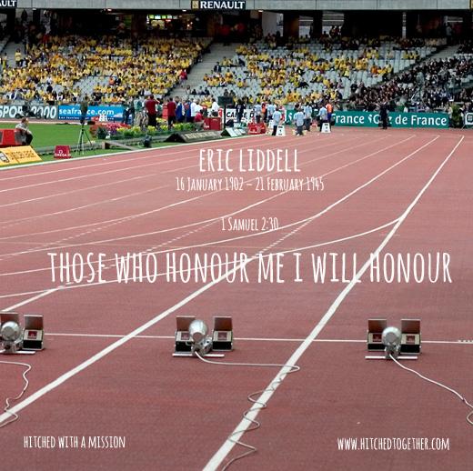 Those who honour me I will honour