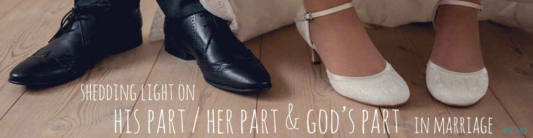 Shedding light on his part, her part and God's part in marriage is a short format seminar for marriages where Roy and Lainey teach about how marriage can be the joy it was designed to be.